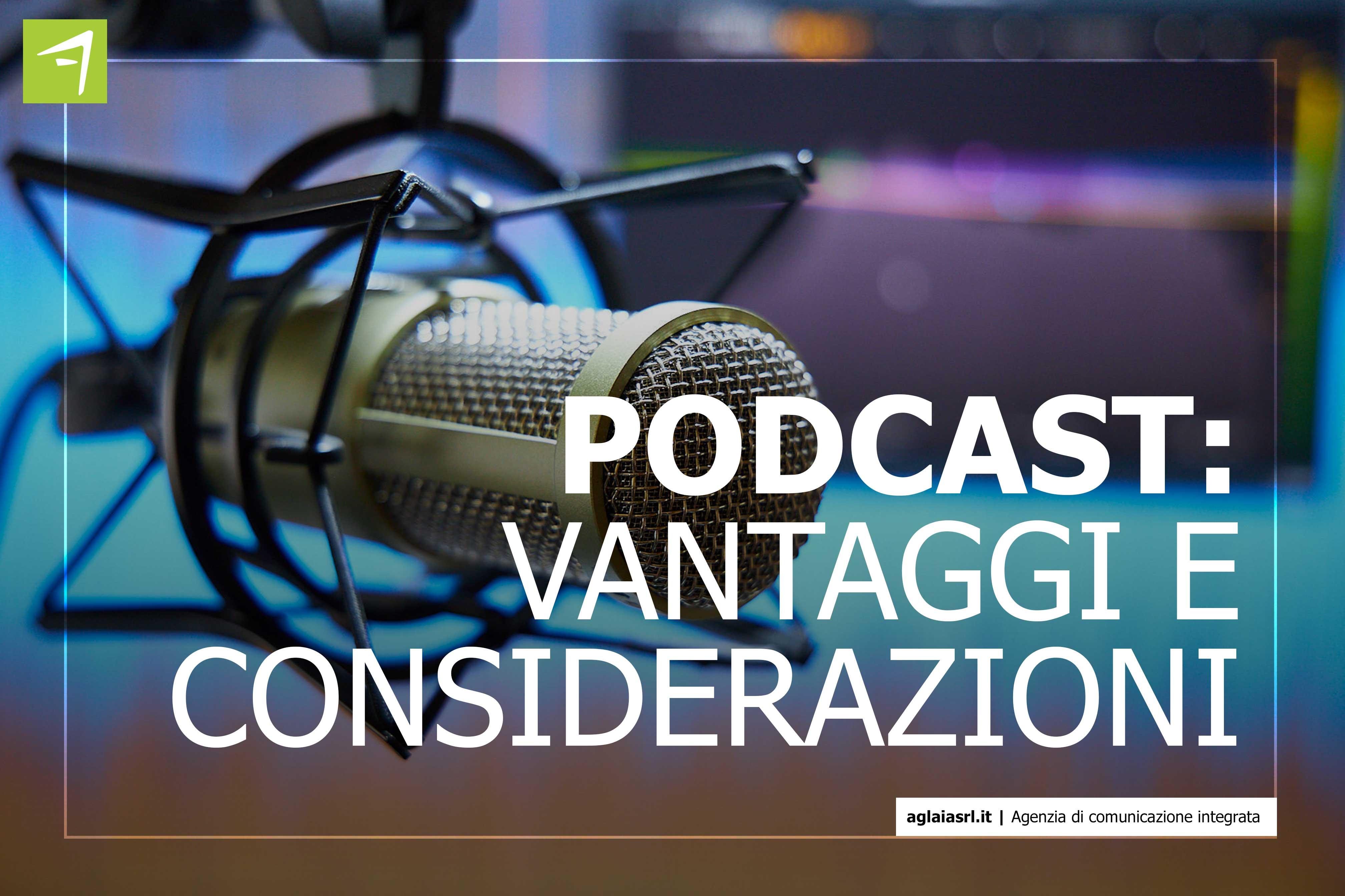 vantaggi podcast